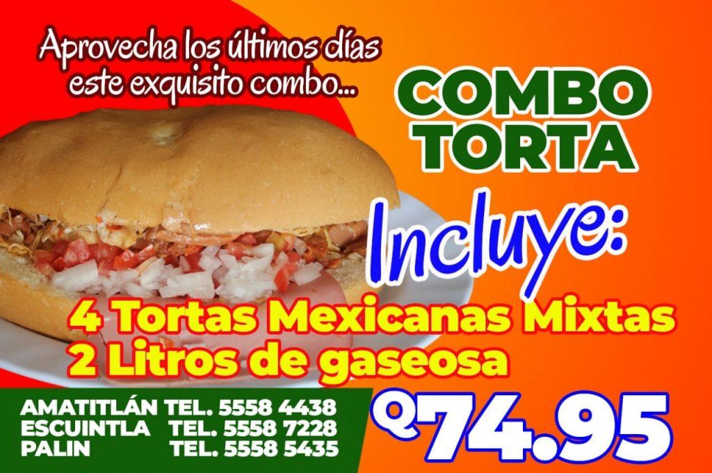 Combo Torta Mexicana Mixta